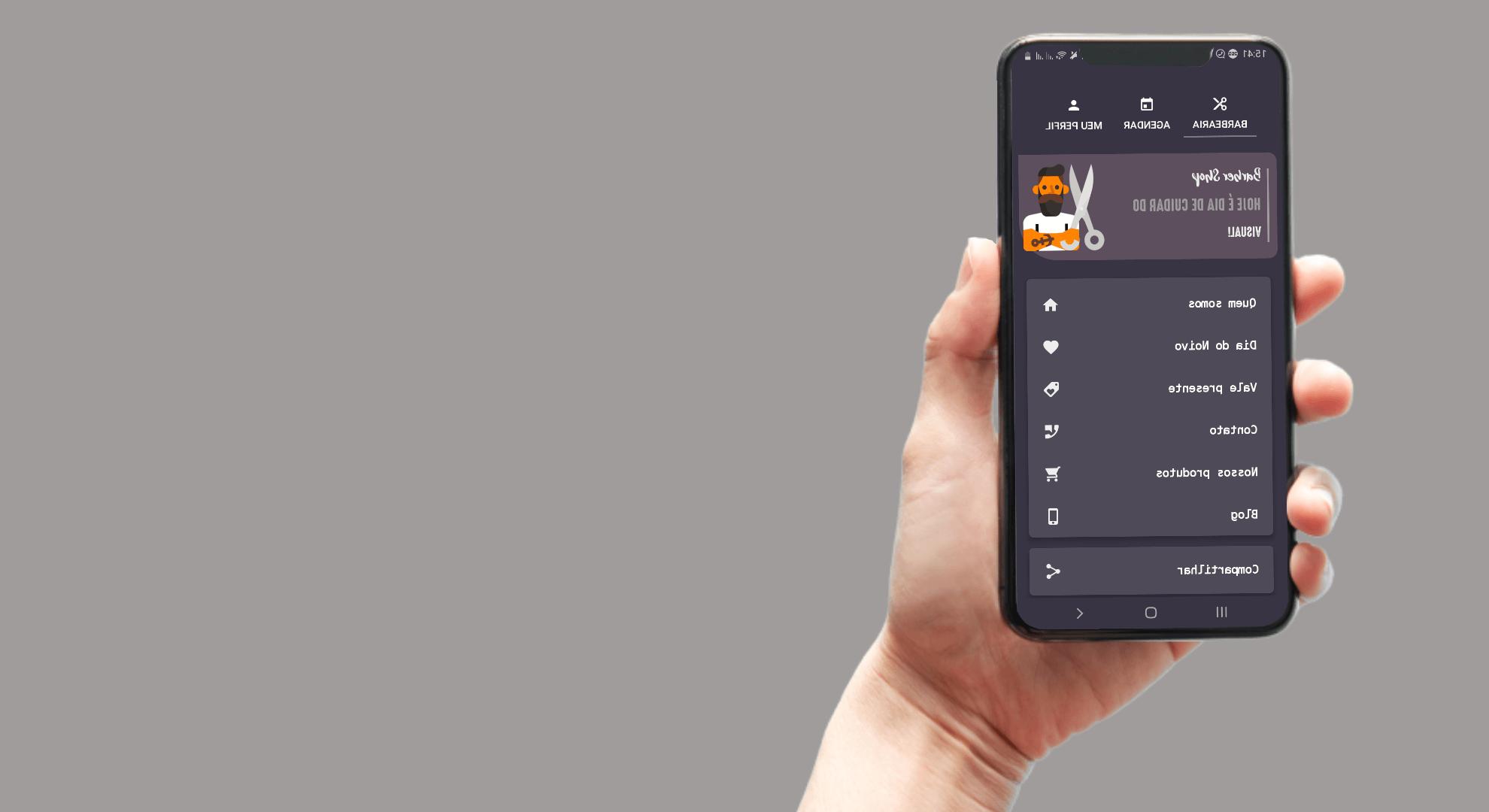 Mini Curso: App para Agendamento de Barbearia
