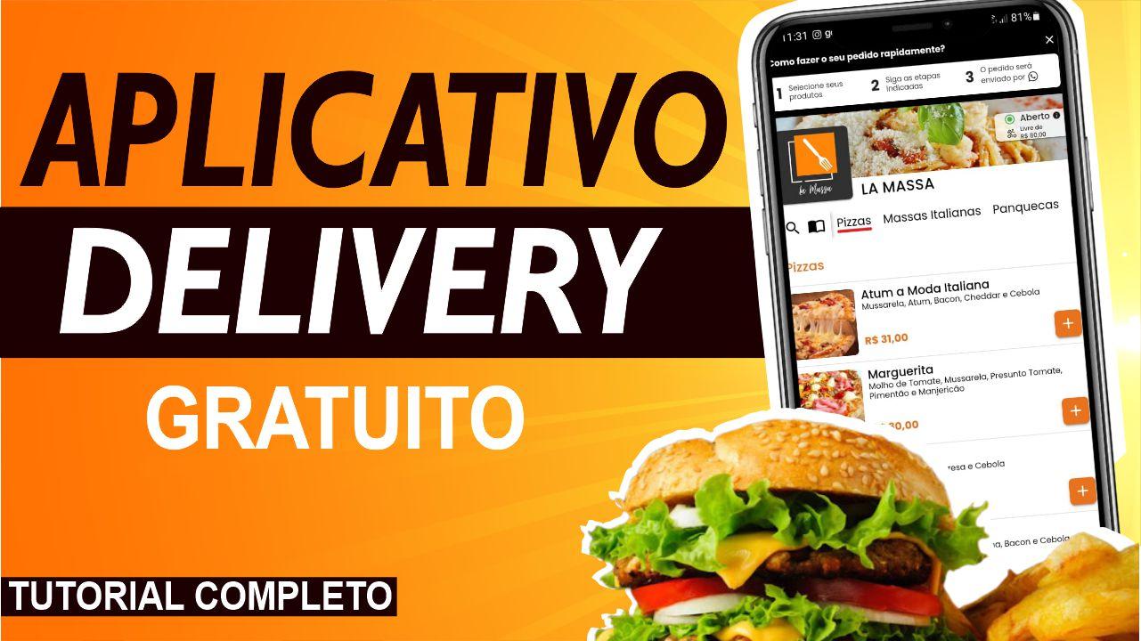 Como Criar Aplicativo Delivery Gratuito